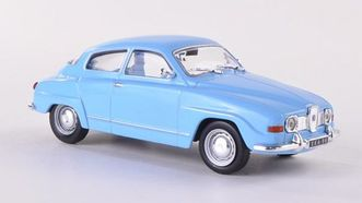 SAAB 96 голубой (WhiteBox)